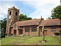 SJ4668 : St Bartholomew's Church, Great Barrow by Jeff Buck