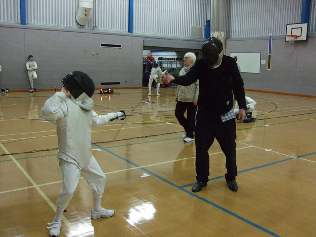 Parry and Thrust - Manchester Junior Open Fencing Championships  2010 (2)