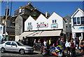 TQ8209 : The Net Shop Jellied Eel Bar by N Chadwick