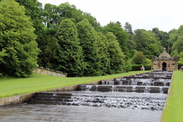 Cascade Chatsworth House Derbyshire Christine Matthews