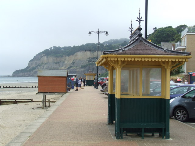 Shelter on Shanklin Esplanade