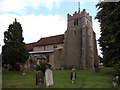 TL5841 : All Saints' Church, Ashdon, Essex by Peter Stack