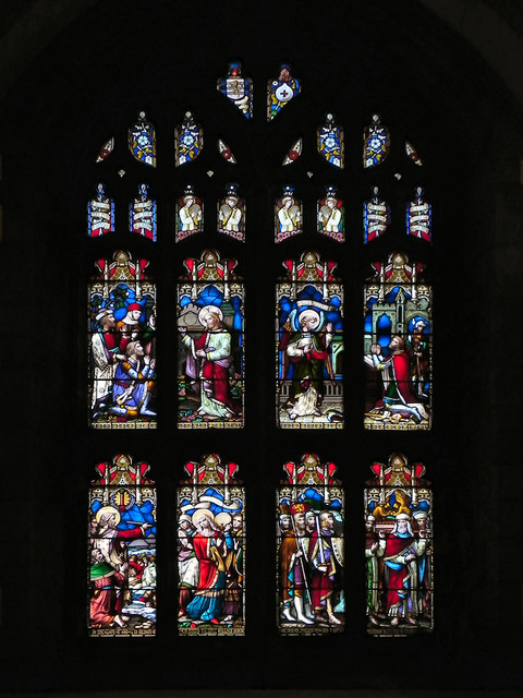 St Mary's Parish Church, Stained Glass Window
