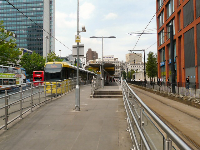 Piccadilly Gardens tram stop