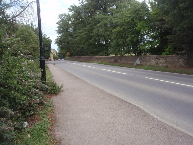 Main Road (A16), Uffington