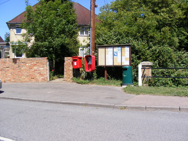 Telephone Box, Elsworth Village Notice Board & Smith Street Postbox