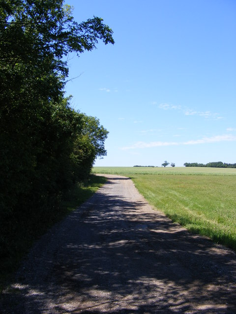Footpath to Wood Lane Papworth Everard