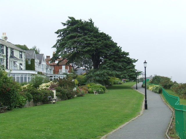 Cliff top path, Shanklin