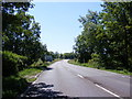 TL2863 : Approaching Papworth Everard on the A1198 Ermine Street North by Adrian Cable