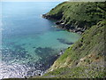 SH1625 : The waters of Porth Meudwy on Lleyn : Week 26