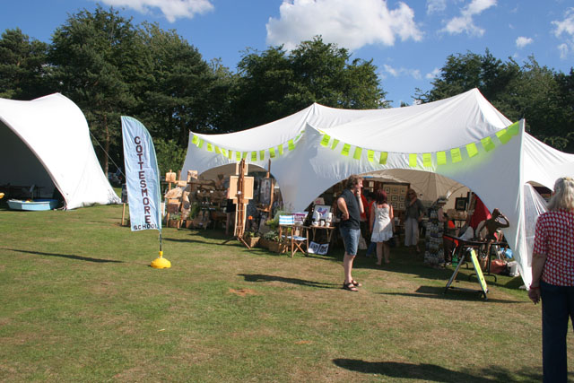 Craft marquees at Rutland Water