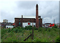 SJ8947 : Derelict land east of Hanley, Stoke-on-Trent by Roger  Kidd