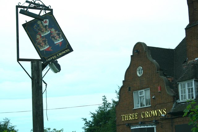 Dilapidated Pub Sign