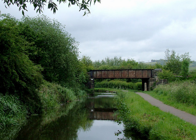 Caldon Canal north of Bucknall, Stoke-on-Trent