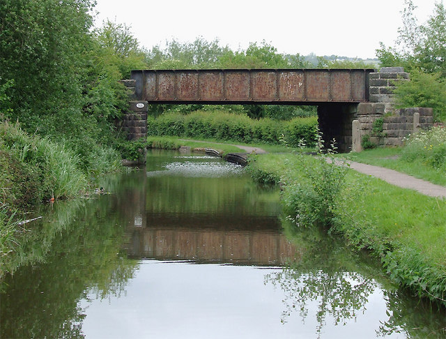 Bridge No 14A north of Bucknall, Stoke-on-Trent