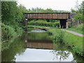 SJ9048 : Bridge No 14A north of Bucknall, Stoke-on-Trent by Roger  Kidd