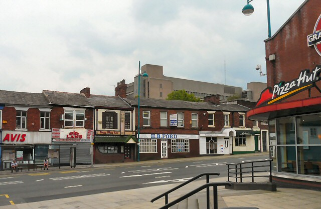 Shops on Wellington Road South
