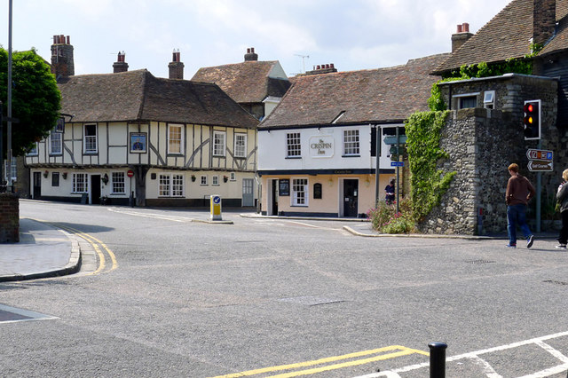 The High Street, Sandwich,Kent