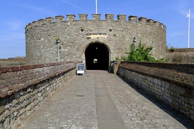 The Entrance to Deal Castle, Kent