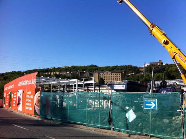 Extending the Halifax Sainsbury's store