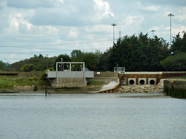 Outfall of the Beam River