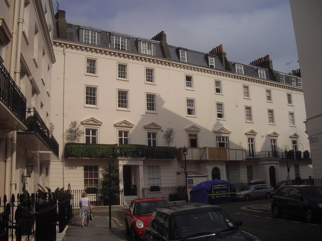 West Eaton House, West Eaton Place, London
