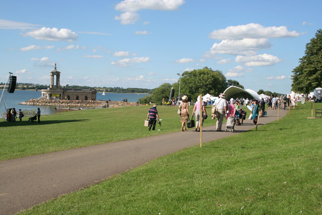Event at the Four Winds Festival, Rutland Water (1)