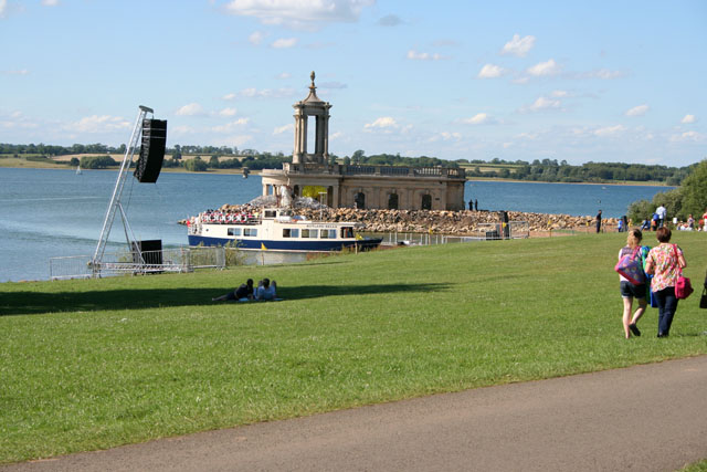 Event at the Four Winds Festival, Rutland Water (2)