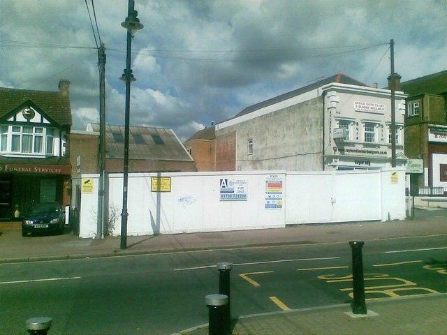 Development site, Collier Row Lane, Collier Row