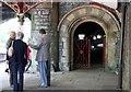 "SO7845 : Entrance to the ""Worm"", Great Malvern Railway Station by Bob Embleton"