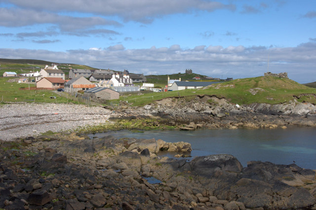 Burravoe from Wester Ayre