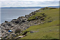 HU5178 : Coastline at Burra Ness, near Burravoe by Mike Pennington