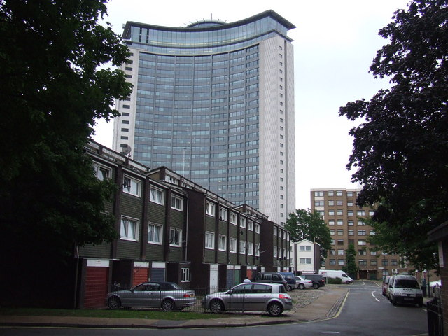 West Kensington Estate and Empress State Building