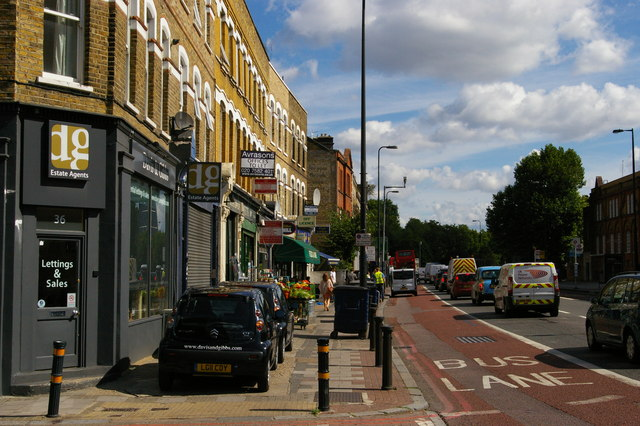 Brixton Road, looking towards Kennington Common
