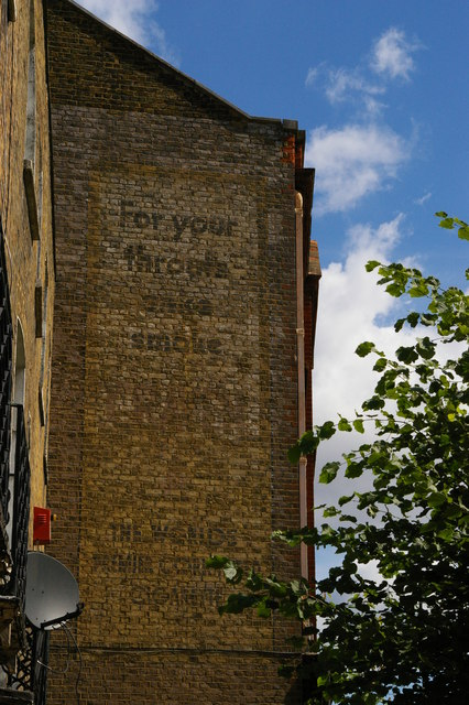 Brixton Road: ghost-sign