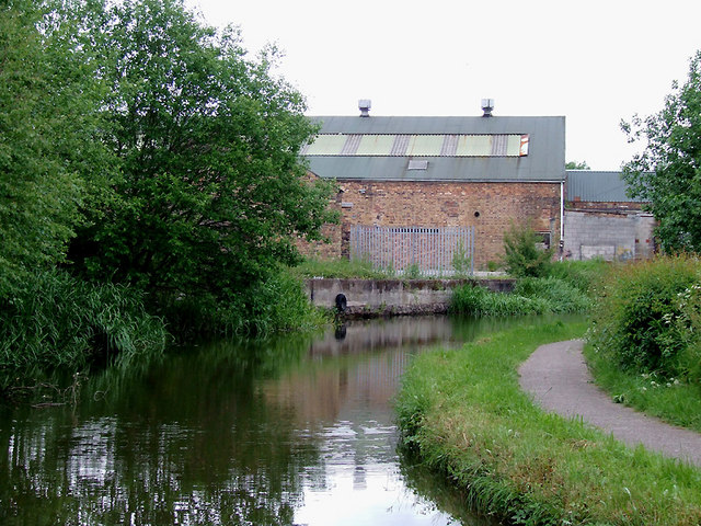 Caldon Canal south of Milton, Stoke-on-Trent