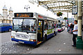 ST5972 : Bus Stands, Bristol Temple Meads by Martin Addison