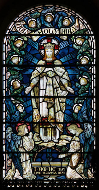 All Saints, Crowborough - Stained glass window