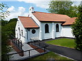 SO4593 : St Milburga's RC church, Church Stretton by Richard Law