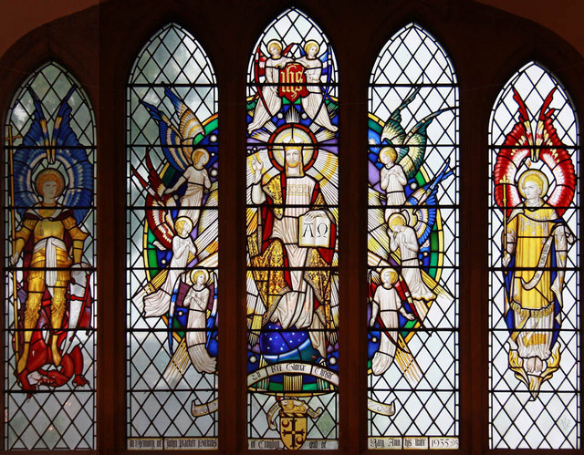 St Michael &amp; All Angels, Jarvis Brook - Stained glass window