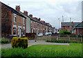 SJ9050 : Terraced housing at Milton, Stoke-on-Trent by Roger  Kidd