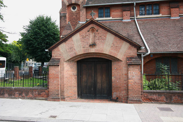 St Aldhelm, Silver Street, Edmonton - South doorway