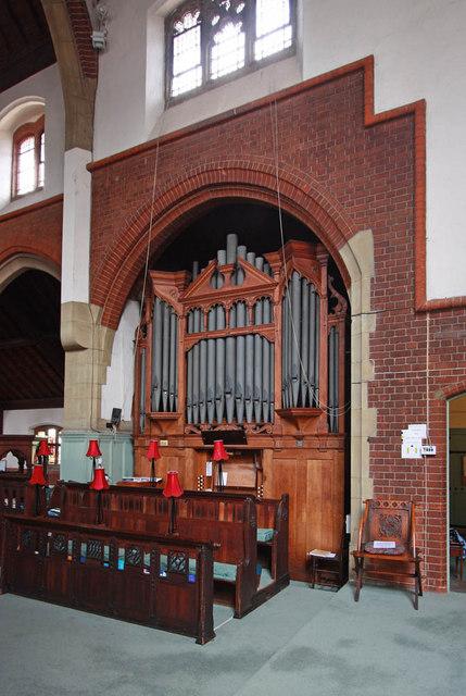 St Aldhelm, Silver Street, Edmonton - Organ
