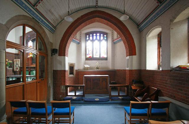 St Aldhelm, Silver Street, Edmonton - South chapel