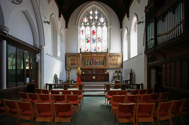 St Gabriel, Walm Lane, Cricklewood - Chancel
