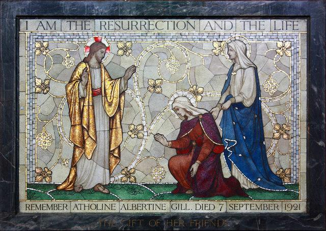 St Gabriel, Walm Lane, Cricklewood - Mosaic