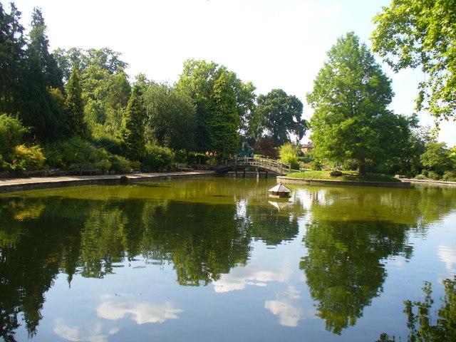 Stoke Park Pond