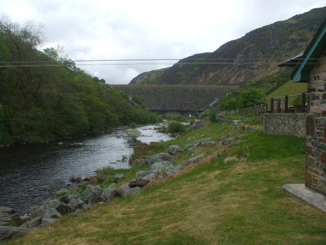 Afon Elan, Elan village