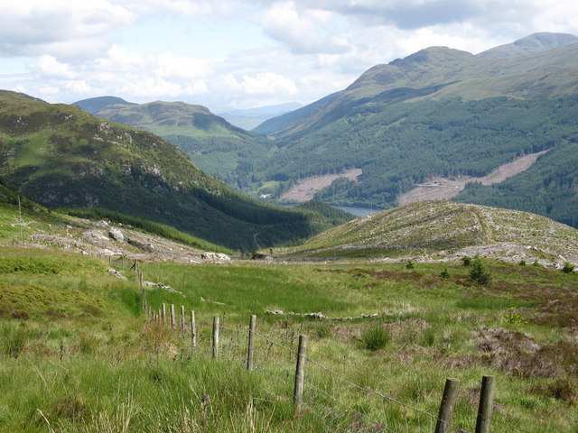 View from the Ben Ledi Path