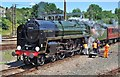 TG2308 : Oliver Cromwell 70013 by Ashley Dace